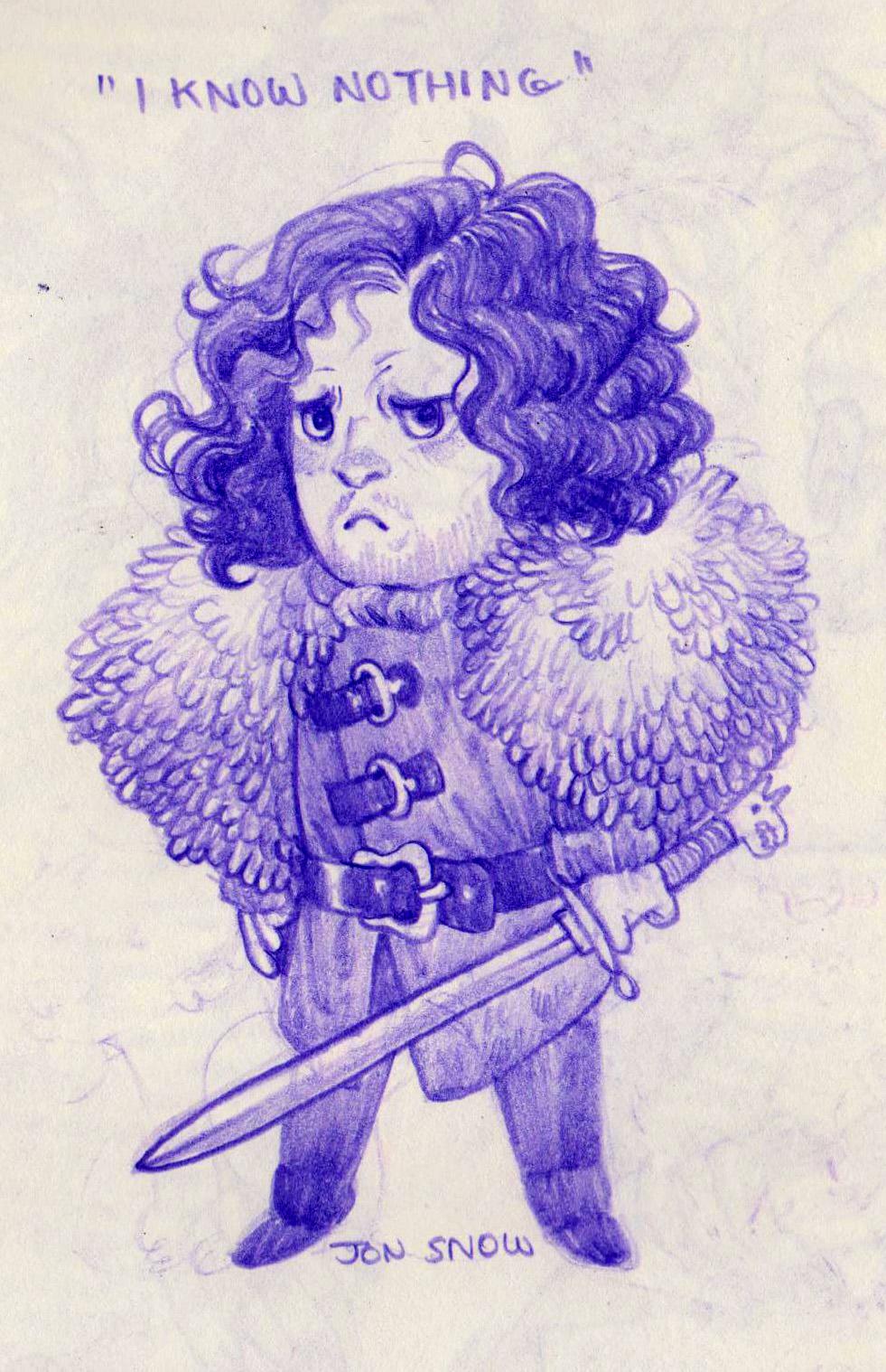 Jon Snow Cyn Saga